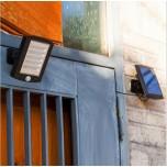 LED Solar Sensor Floodlight 56 LED Security Garden Light with PIR Motion Sensor Wall Lamps Outdoor Emergency Shed Light