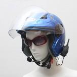 V6-1200 Motorcycle Bluetooth Headset/Intercom 1200M Hands-free Interphone Helmet Headsets Riders Multi-Interphone