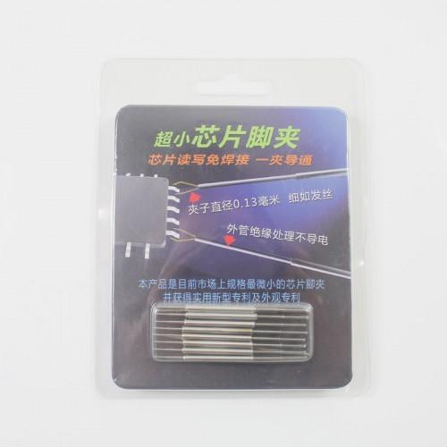 BIlinli 10 Pcs//Set Micro SMD IC Universal Chip Clip SOP Dip SOIC TSOP SSOP PLCC QFP