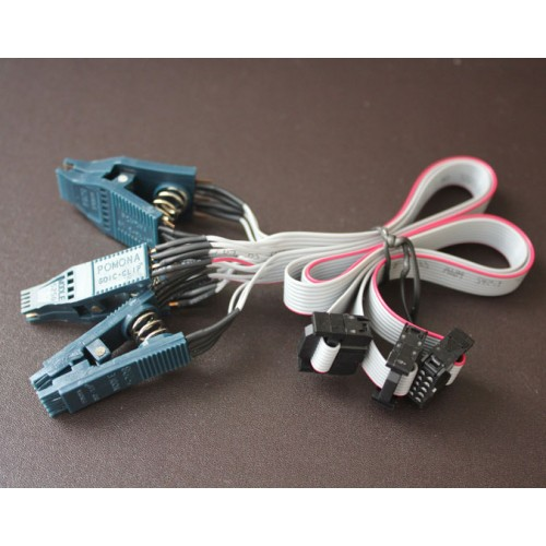 5250 SOIC 8 Pin 5208 DIP 8 Pin 5251 SOIC 14 Pin Eeprom Test Clip